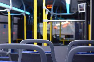 На автобусе в Тель-Авив по бульвару Герцль