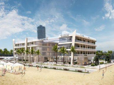 Отели «Hilton» на пляже Лидо станут выше