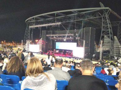 В амфитеатре Ашдода разрешены мероприятия со зрителями до тысячи человек