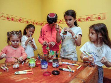 Мероприятия на Пурим в музее культуры Филистимлян