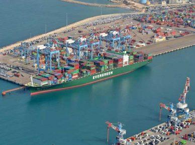 Проект удлинения причала №24 в порту Ашдода