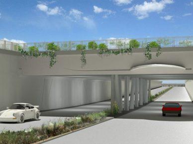 Вместо перекрёстка улиц Бней-Брит и Бен-Гурион появится туннель