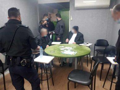 Дважды за один день: полиция разогнала картёжников и выписала штрафы