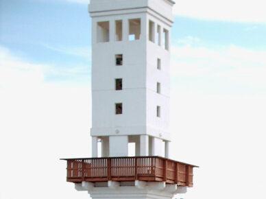 Жителям Ашдода предложили поделиться идеями по улучшению внешнего вида башни на пляже Лидо