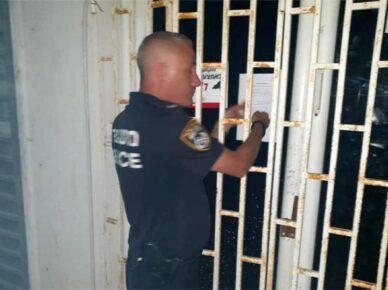 Полиция закрыла паб где произошло нападение с использованием стеклянной бутылки